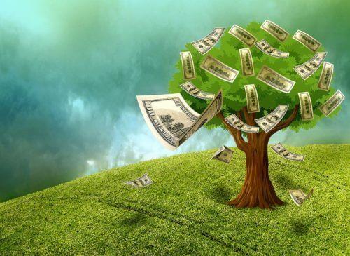 お金が生まれる木