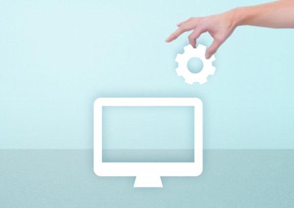 パソコン設定イメージ