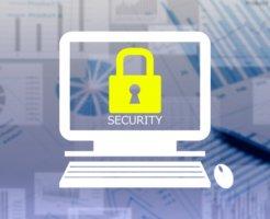 パソコン画面にセキュリティー
