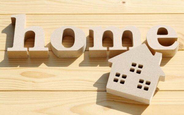 homeと家の模型